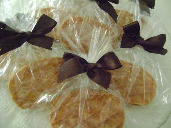 waffles recheados com brigadeiro de cereja