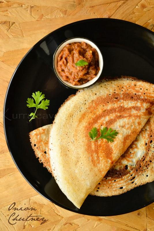 Onion Chutney Recipe - Vengaya Chutney for Idli Dosa | Sharmis ...