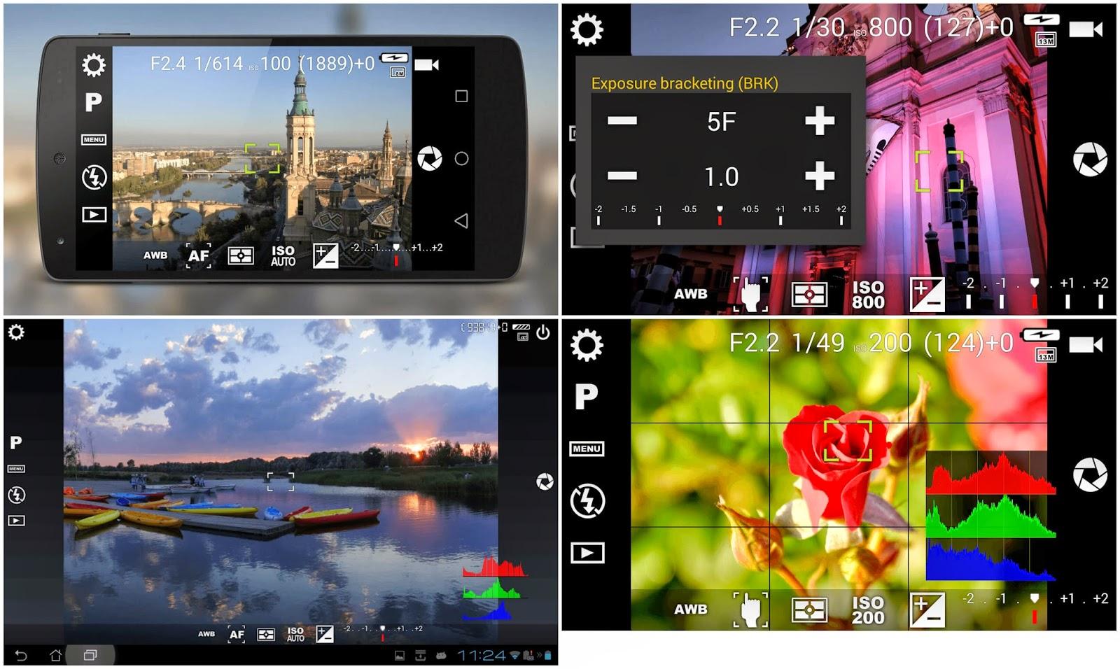 Aplikasi Camera FV-5 APK Terbaru