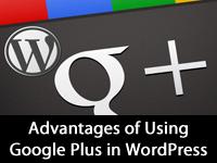 Advantages of using google plus