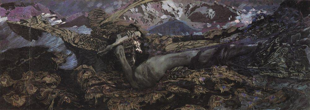 Mikhail Vrubel - Fallen Demon