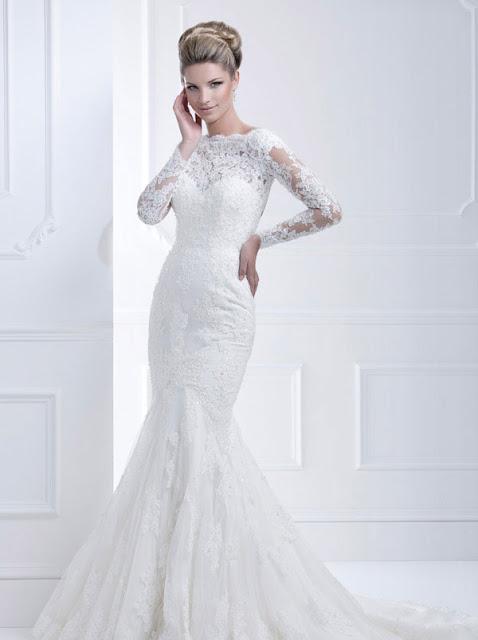 Ellis wedding dresses 2013 lace mermaid