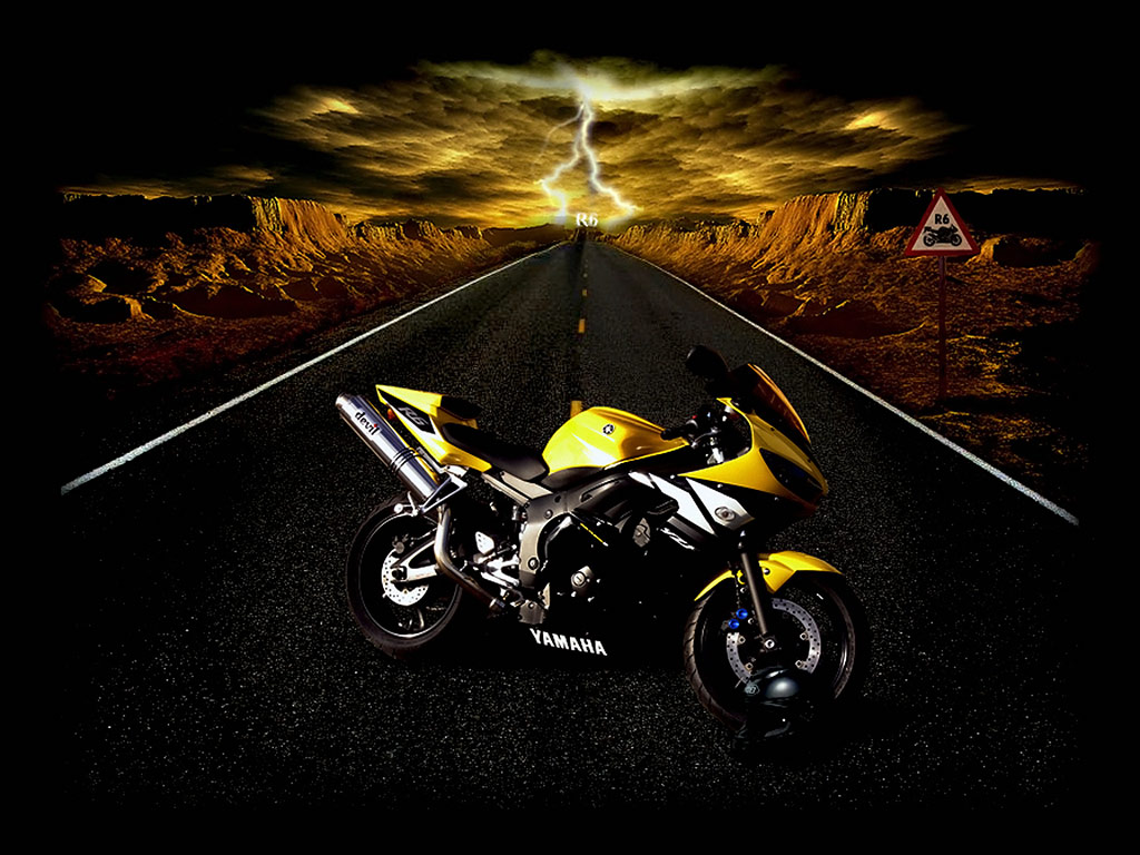 Yamaha R6, Devils Bike Bike Wallpaper