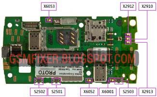 Nokia X3 Circuit Schematic Diagram PCB Layout | gsmfixer