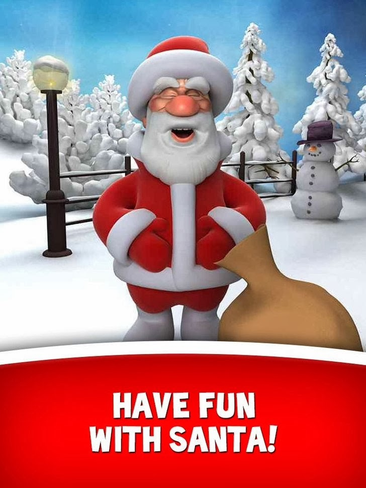 Talking Santa For iPad HD App iTunes App By Out Fit 7 Ltd - FreeApps.ws