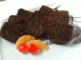 Resep dan Cara Membuat Bolu Sarang Semut ( Caramel Cake )