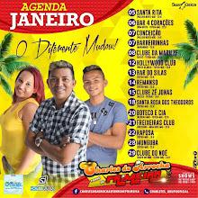 AGENDA MÊS DE JANEIRO DE CHARLES DO ARROCHA E FORRÓ DE PRIMEIRA!!!
