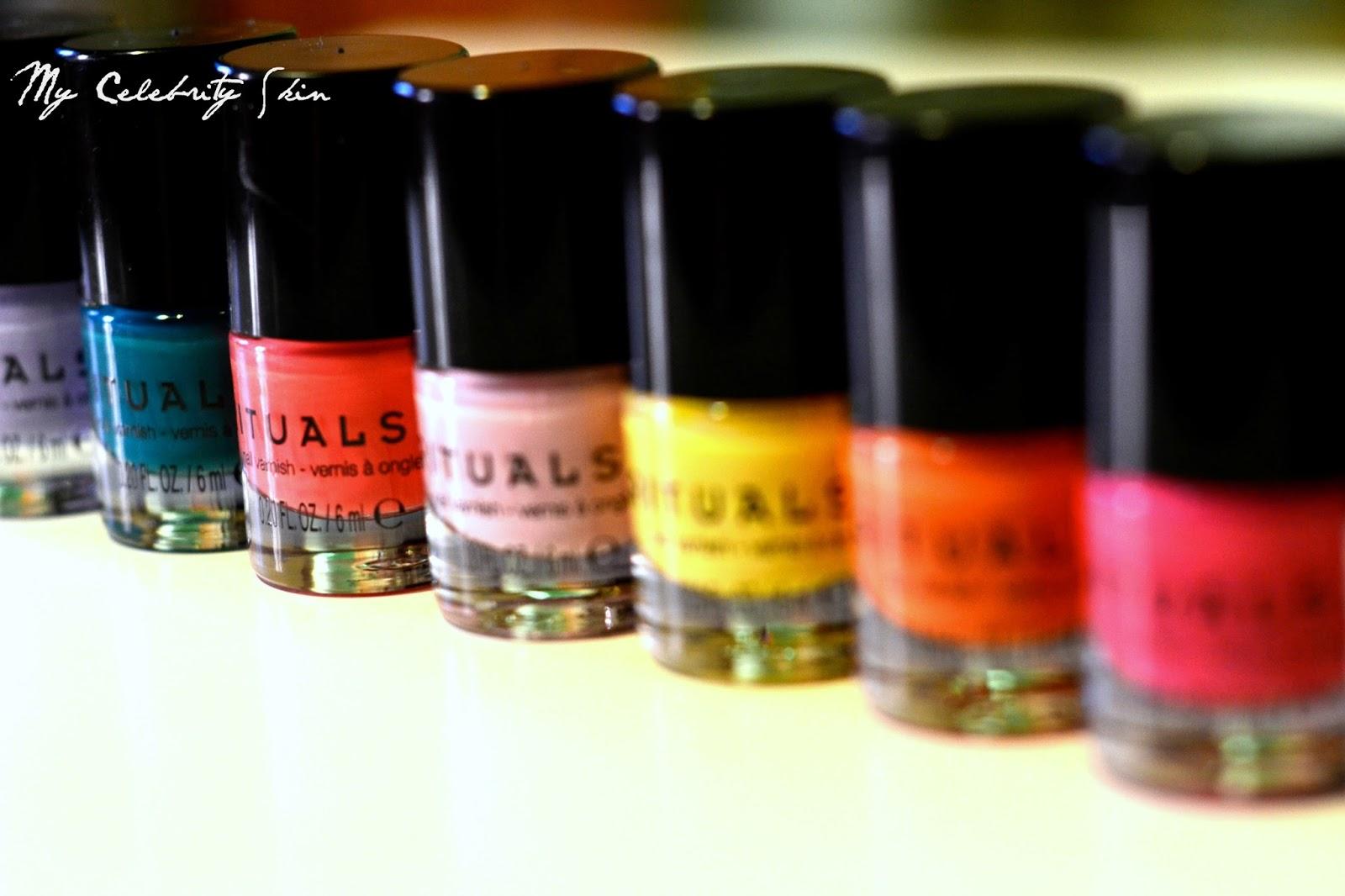 Los esmaltes de uñas Mini enriquecidos con piedras preciosas de ...