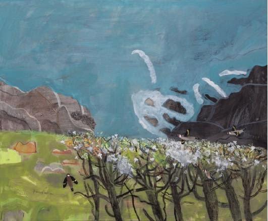 Elaine Pamphilon-伊萊恩.美麗的花卉風格-藝術家的靈感充滿活力, 採用明亮的顏色, 自由.自信.的方法繪畫 。。。 - ☆平平.淡淡.也是真☆  - ☆☆。 平平。淡淡。也是真。☆☆ 。