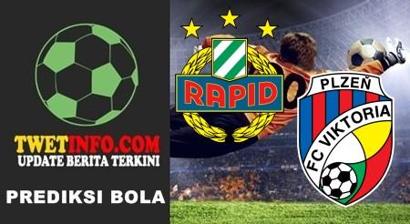 Prediksi Rapid Wien vs Viktoria Plzen