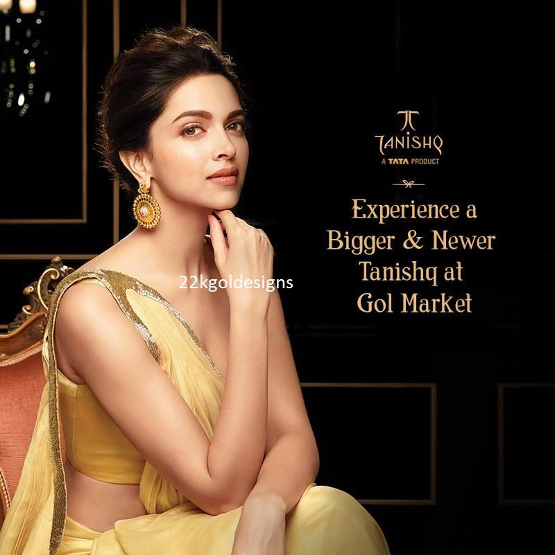 Deepika Padukone In Tanishq Jewellery Ad 22kgolddesigns