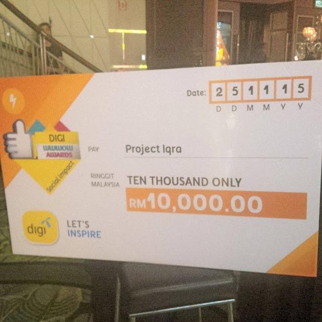 Projek Iqra Menang Digi Wwwow Awards