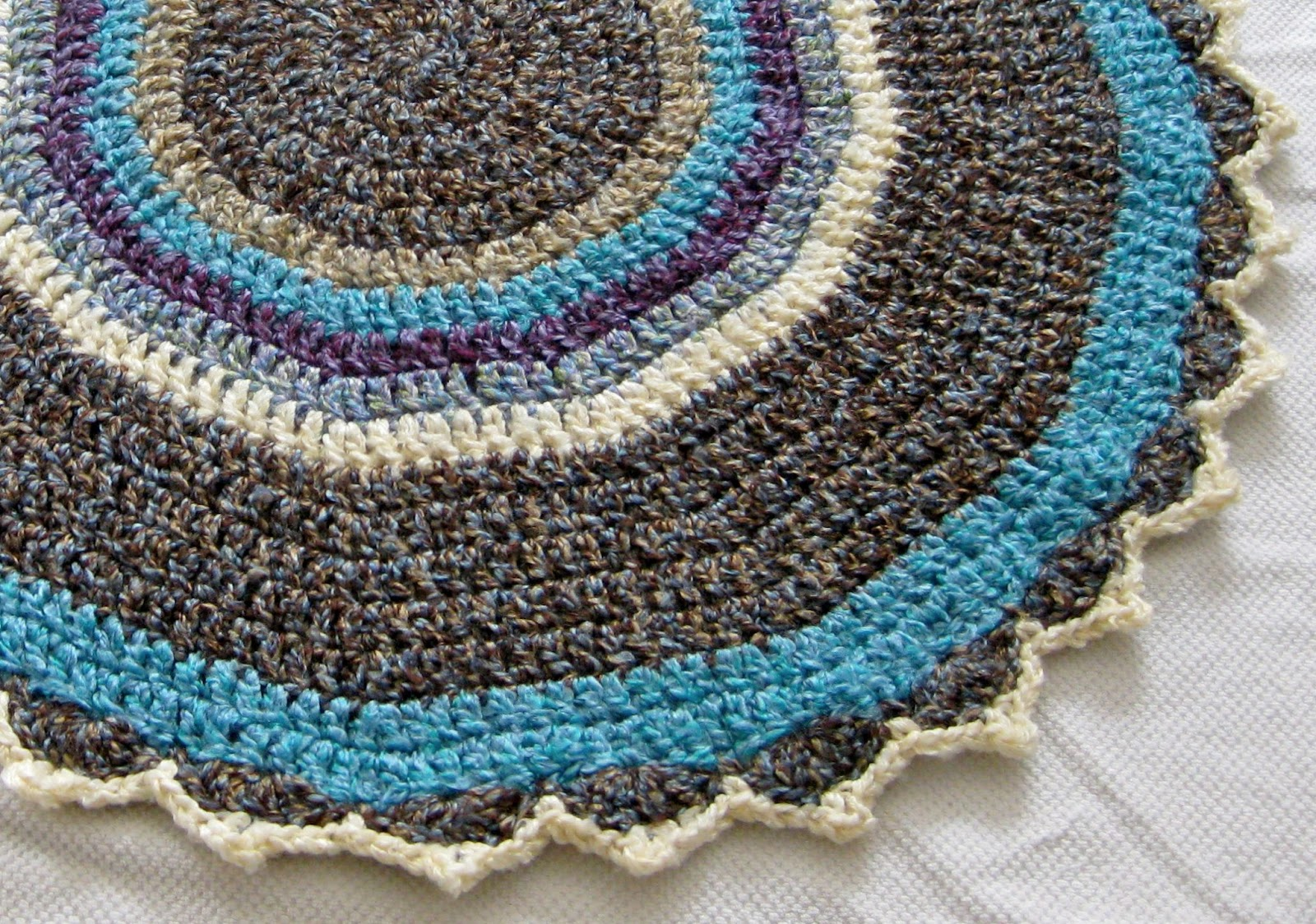 Yarn Over Mo: Circles Baby Blanket