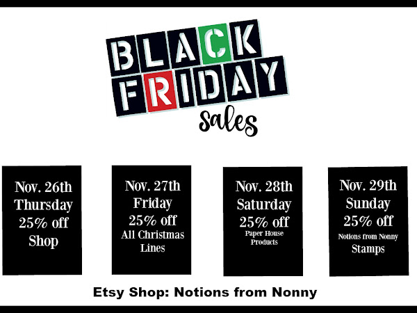 Etsy Shop | Black Friday Deals