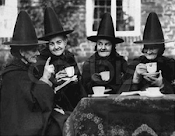 Witches, me and a cup of tea!!!