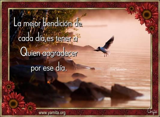 bendición de cada día