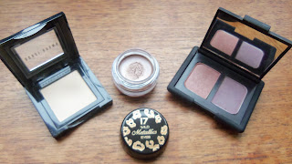 Bobbi Brown Bone, 17 Wild Metallic Eyes in Wild Nude, Nars Charade