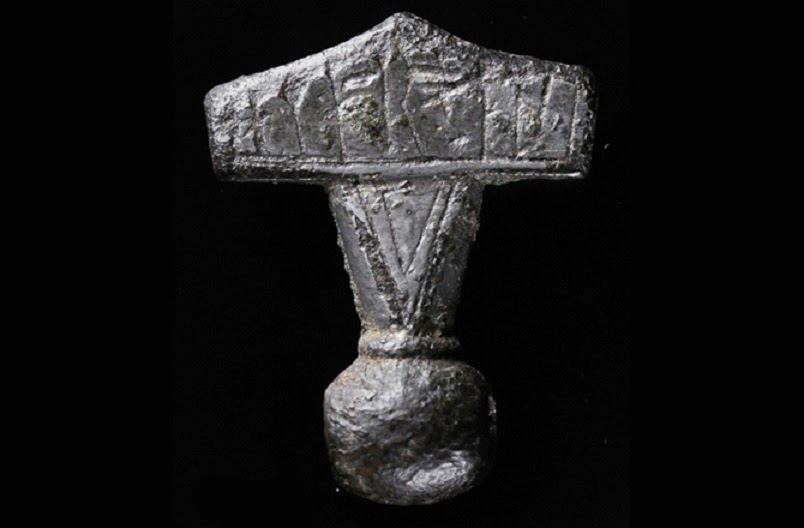 hammer of thor unearthed on the danish island the archaeology