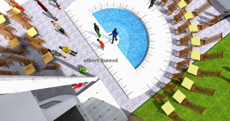 architecture et design rapp pool. Black Bedroom Furniture Sets. Home Design Ideas