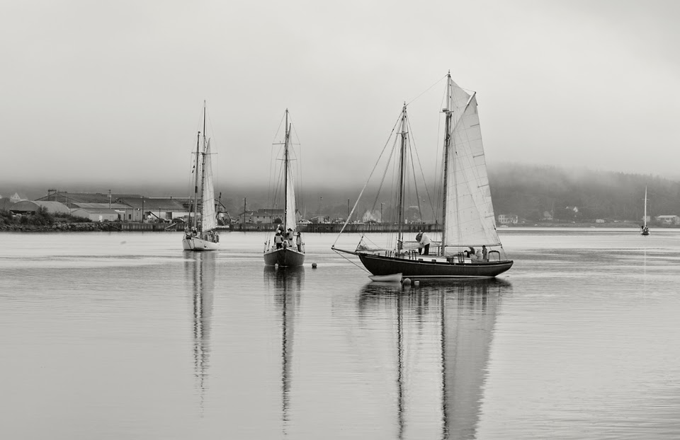 Nova Scotia; Boats; Sloop; LaHave River