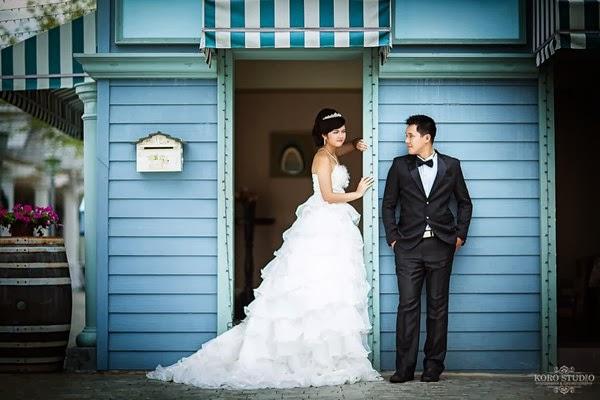 Pre Wedding Dengan Background Bangunan Modern atau Klasik