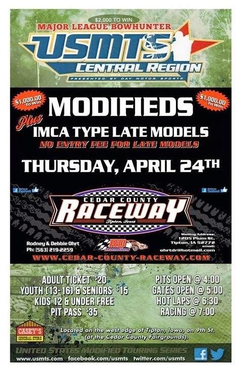 USMTS Modifieds Plus Late Models!