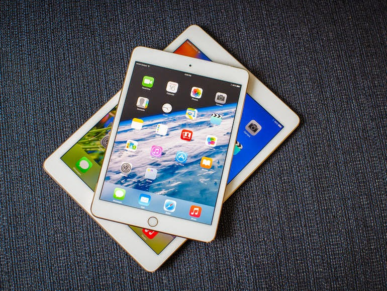 Apple IPad Mini 3 Is Re Back of Apple