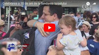 ✡ Celebrarea a 70 de ani de la fondarea Israelului