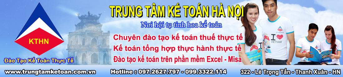 Trung Tâm Đào Tạo Kế Toán - Kế Toán Hà Nội
