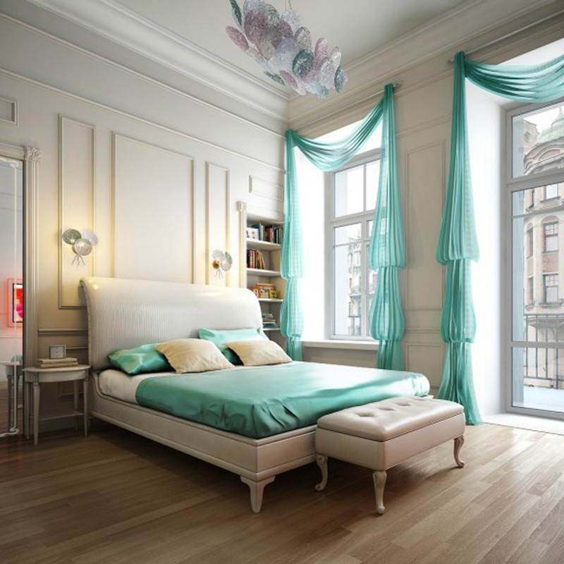 Pastel bedroom 