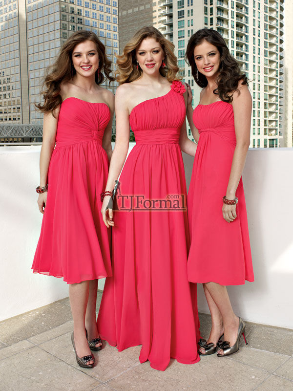 Tj Formal Dress Blog Matchy Matchy Bridesmaids A Thing Of The Past