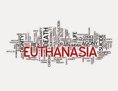 euthanasia Euthanasia is the deliberate killing of a person for the benefit of that person in most cases euthanasia is carried out because the person who dies asks for it, but there are cases called.