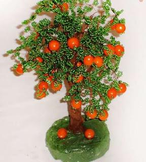 дерево из бисера своими руками