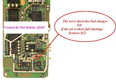Nokia 1600 Short or Dead Solution
