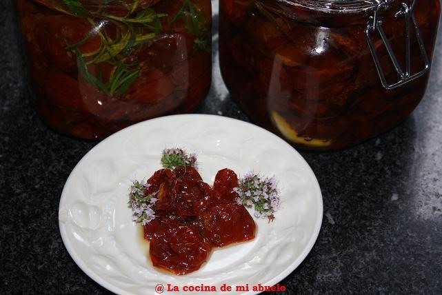 La cocina de mi abuelo tomates marinados - La cocina de mi abuelo ...
