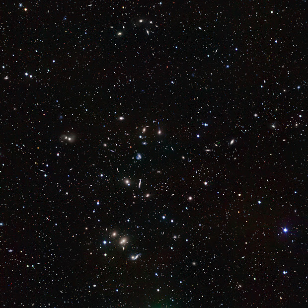 Abell 2151, the Hercules Galaxy Cluster as seen by the VST
