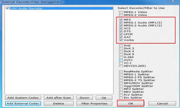 аудио кодеки для kmplayer - фото 10