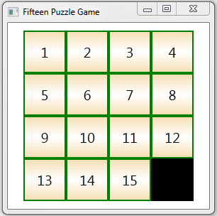 Fifteen Puzzle Game as example of WPF Animation