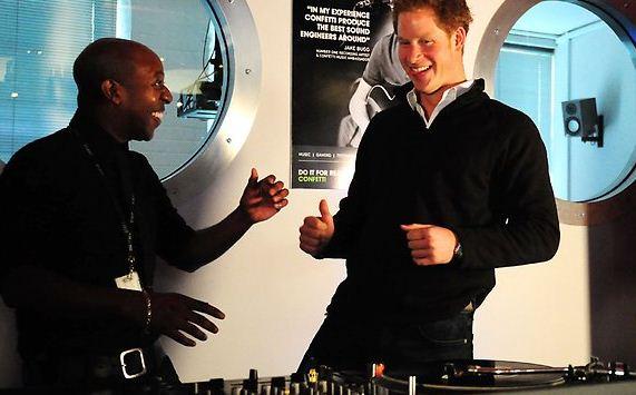 Prince Harry Puts His DJ Skills To Test