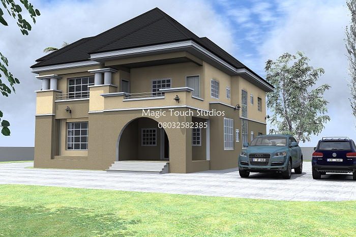 5 bedroom duplex residential homes and public designs for 5 bedroom house