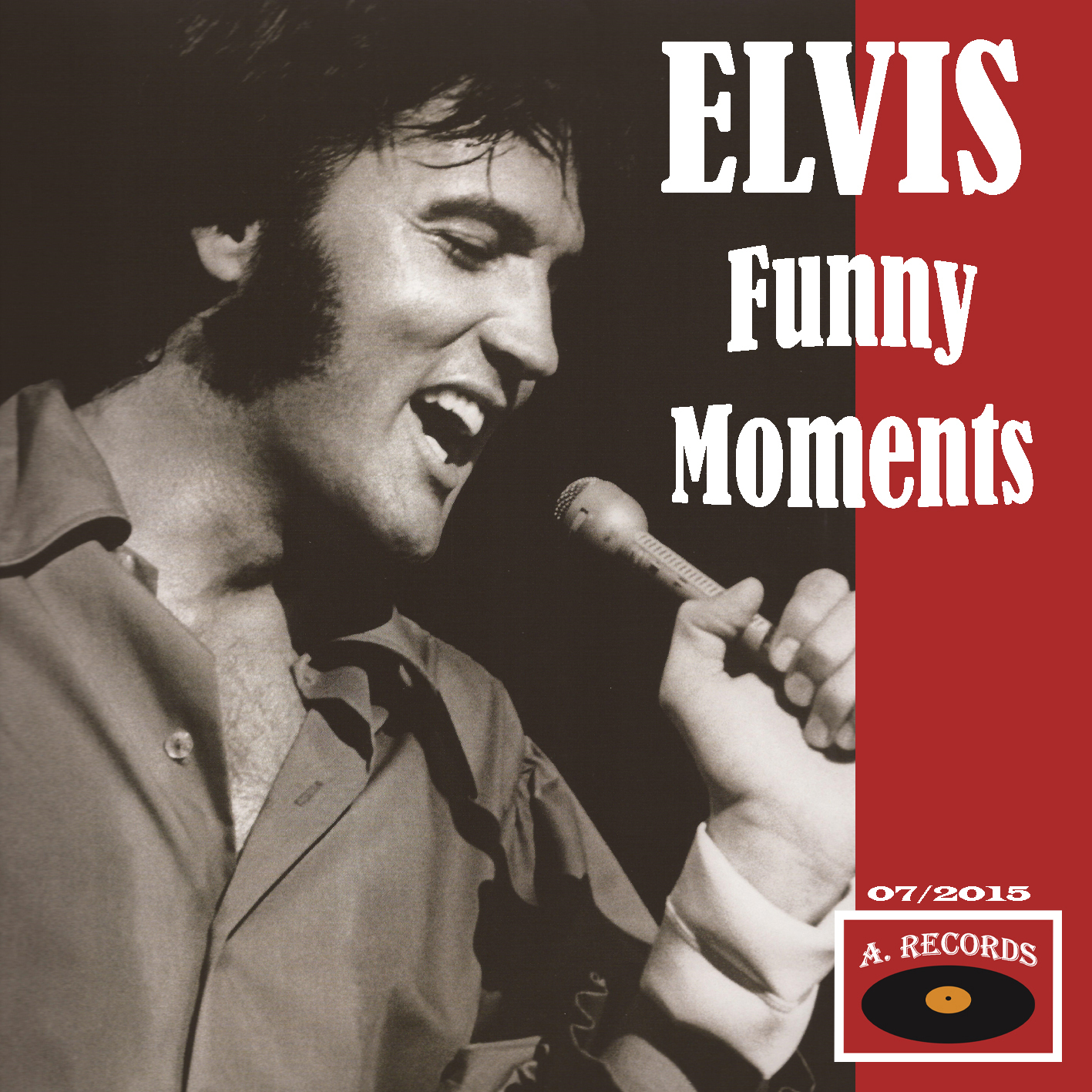 Elvis Funny Moments (July 2015)