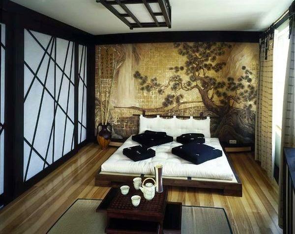 Дизайн спальни 4 на 2