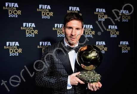 Peraih Ballon d'or 2013 Messi