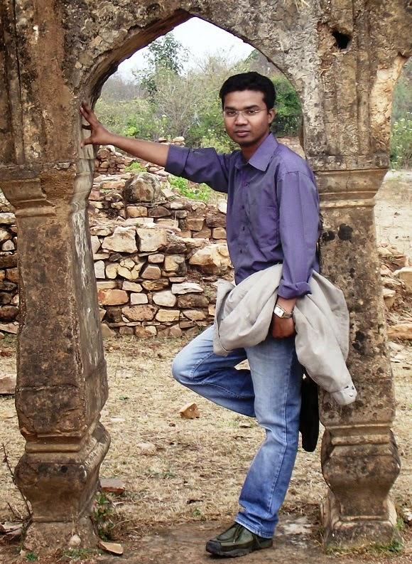 Angraj Manjhi at Kalinjar