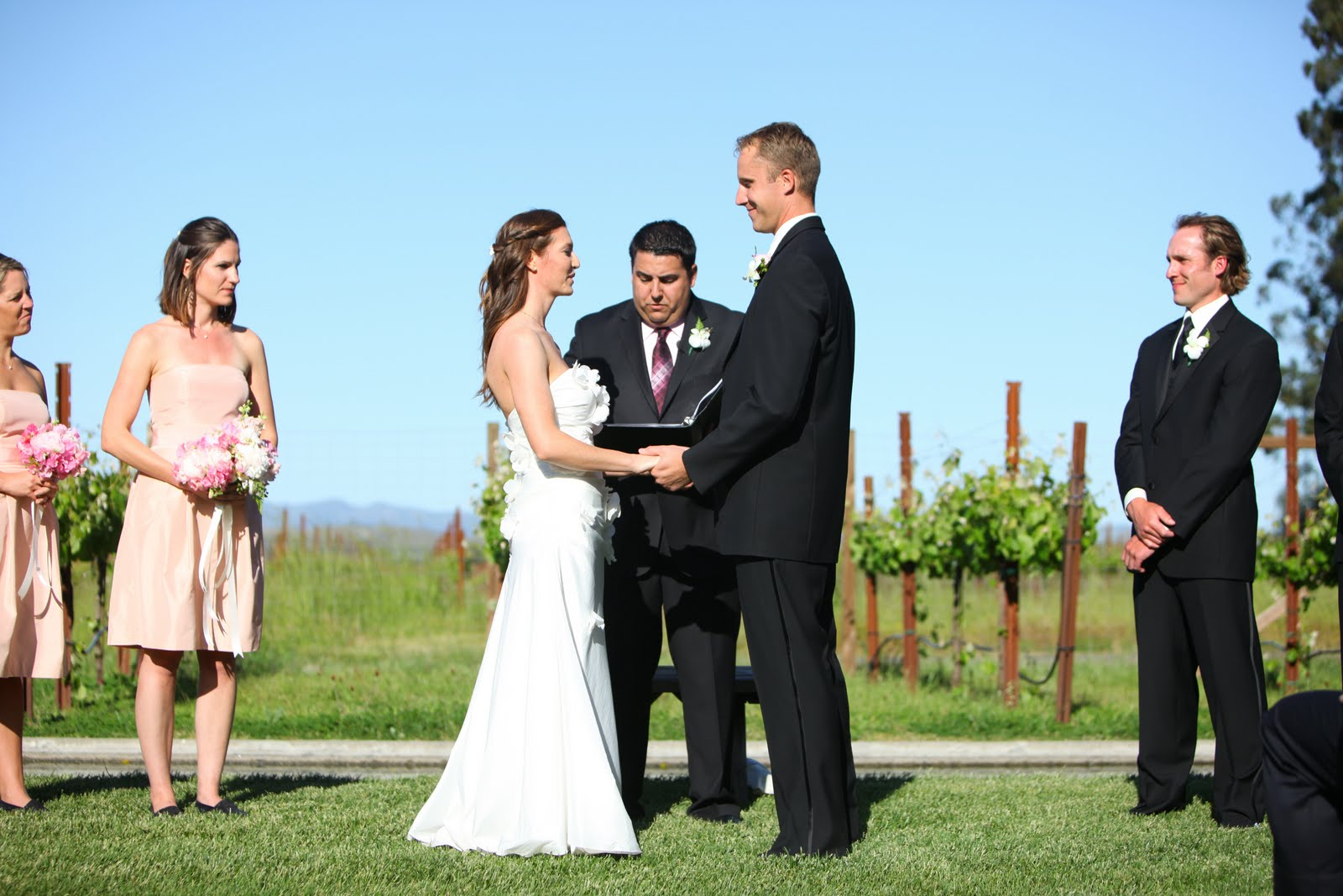 Officiating A Wedding Ceremony In California