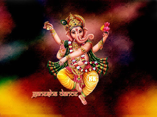 Dancing Ganesha Still,Photo,Image,Wallpaper,Picture