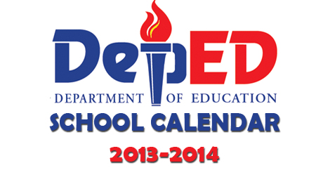 DepEd releases school calendar for 2013-14; classes to start June 3