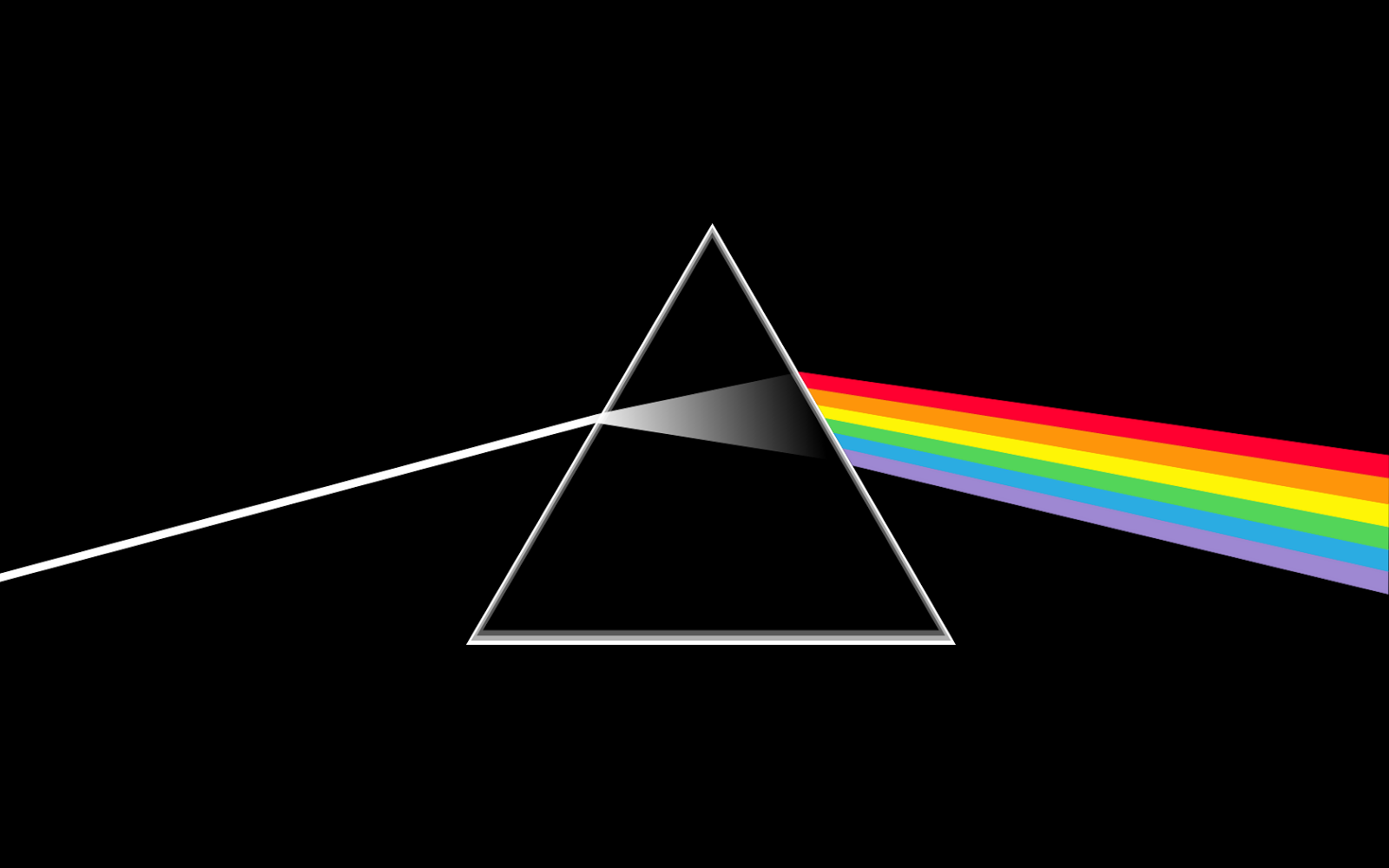 """There's no dark side of the moon, really.       Matter of fact, it's all dark."""