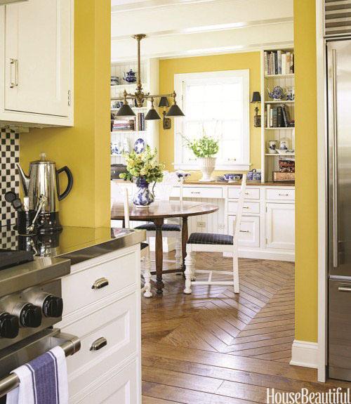 House Kitchen Paint Colors: House Beautiful's 2012 Color Report