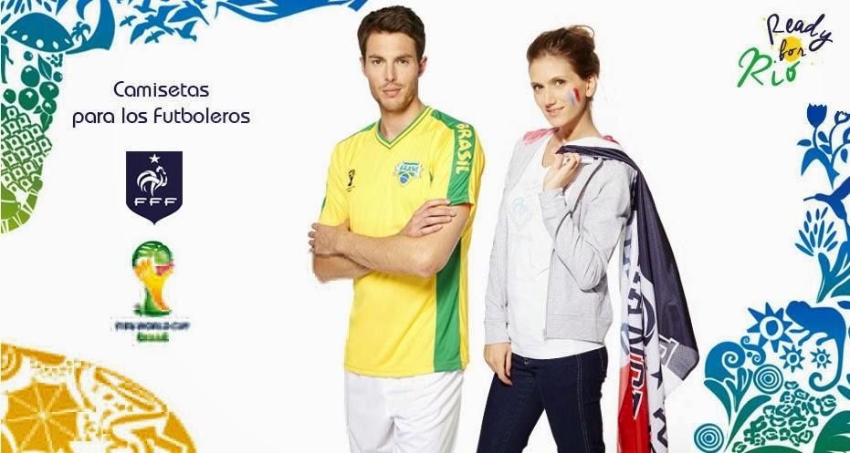 Camisetas mundial 2014